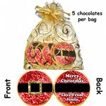 Personalised Christmas Belgium Chocolates Santas Belt